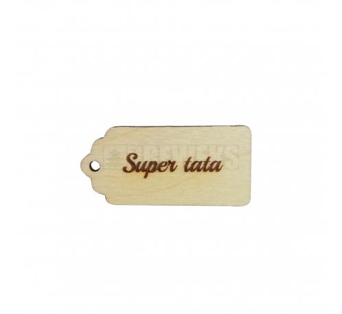 "A pendant ""super mama"""
