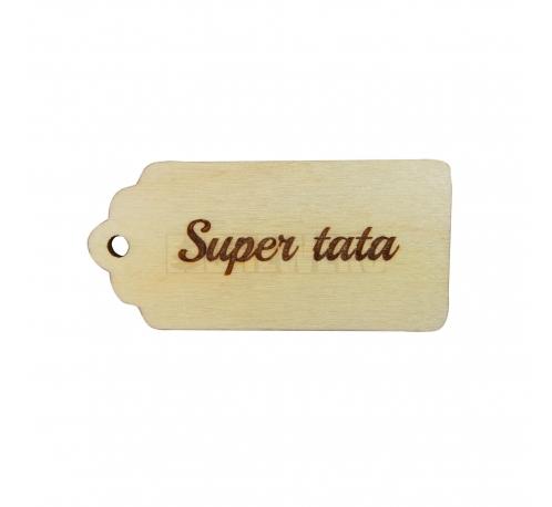 """A big pendant """"super mama"""""""