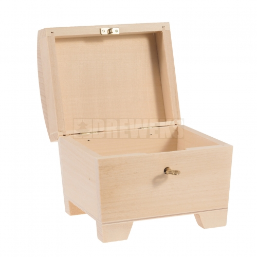 Chest with key - small