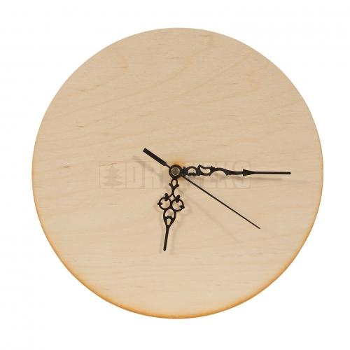 Circle clock - plywood