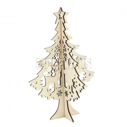 Christmas tree - big/ 3D
