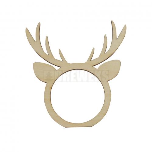 Christmas decoration - reindeer napkin ring