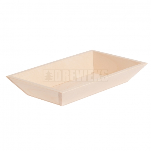 Sloping tray