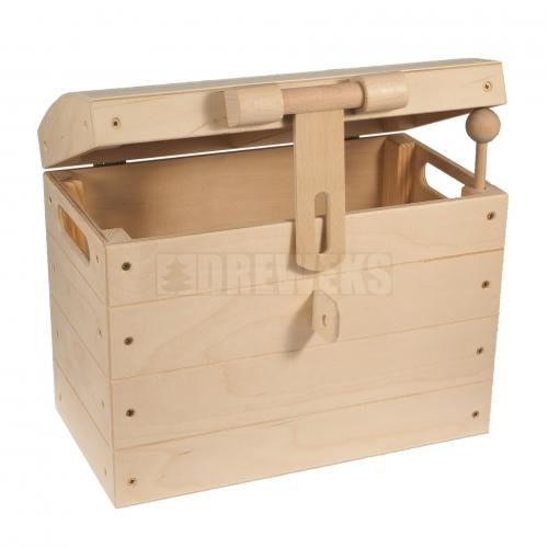 Kufer z zamknięciem, skrzynia piracka