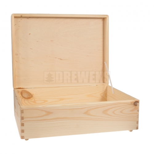 Storage box with lid - medium