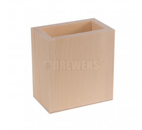Pencil pot - rectangular