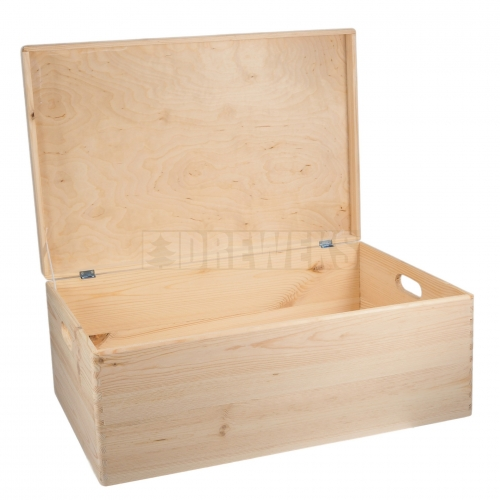 Storage box with lid and handles - very big