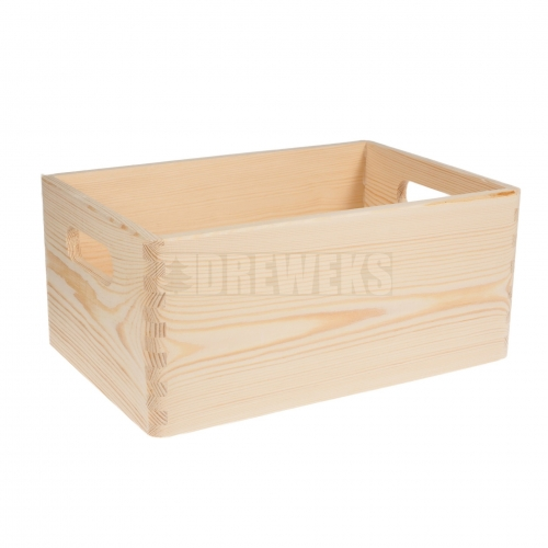 Storage box with handles - small