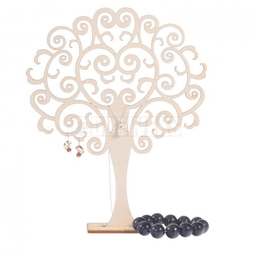 Drzewko na biżuterię - ażurowe