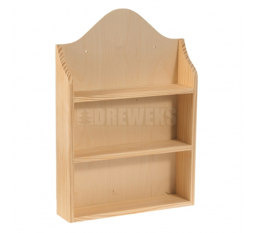Rack for spices - 2 levels/ plywood