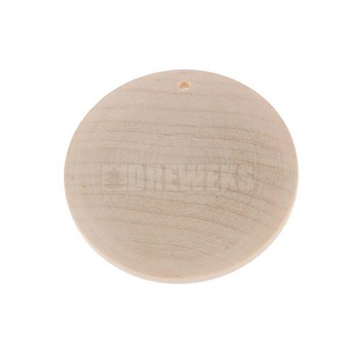 Kolczyk drewno wypukły-prosty BAZA
