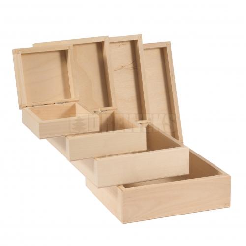 Pudełka - komplet 4w1