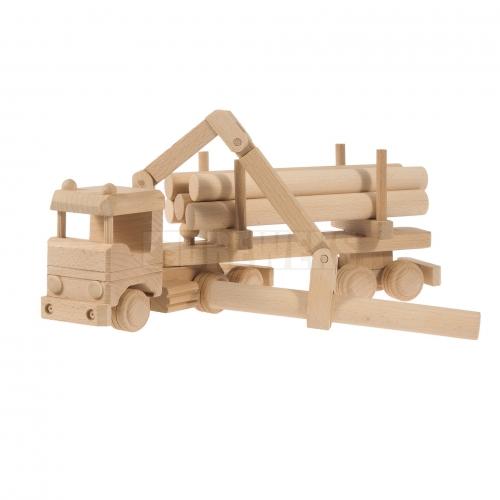 Ciężarówka z HDS i drewnem
