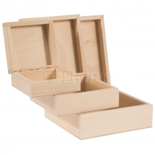 Pudełka - komplet 3w1