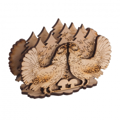 Napkins holder - pheasants