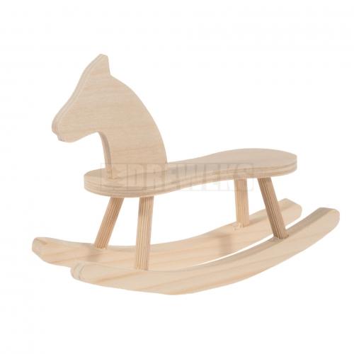 Koń na biegunach mały