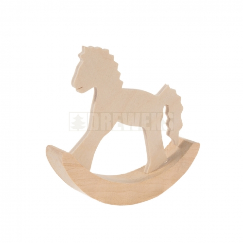 Rocking figures - small horse