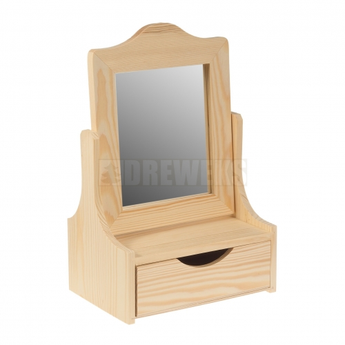 Toaletka z lustrem i szufladą