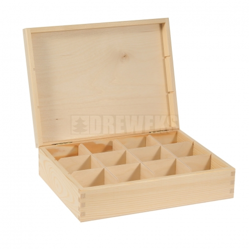 Tea box - 12 compartments
