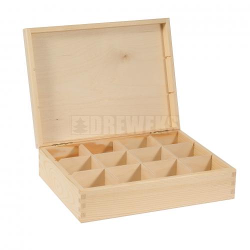 Tea box - 12 compartments