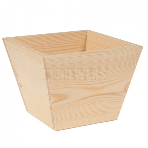 Flowerpot / container - square/ small