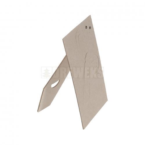 Cardboard stand for frame