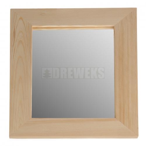Ramka z lustrem średnia