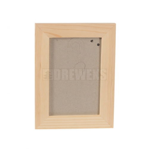Frame with cardboard stand - rectangular