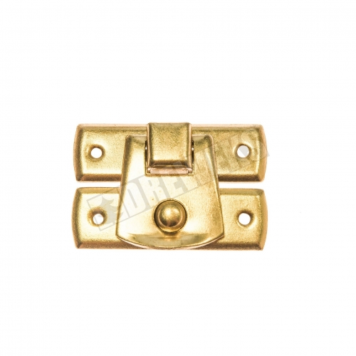 Lock 30x22mm - brass