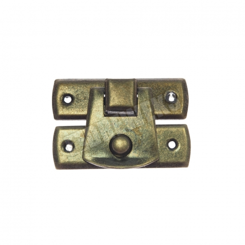 Lock 30x22mm - dark brass