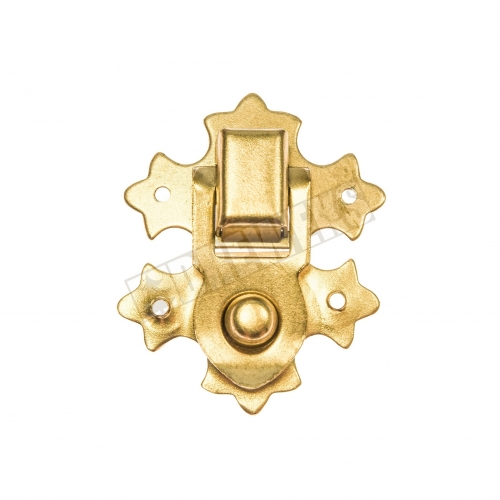 Decorative lock 29x37mm - brass