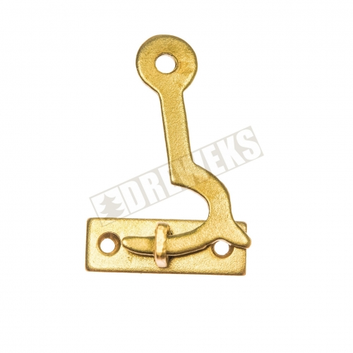 Hook for boxes 33x21mm - brass