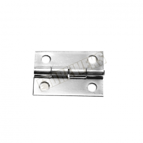 Hinge 25x20mm - nickel