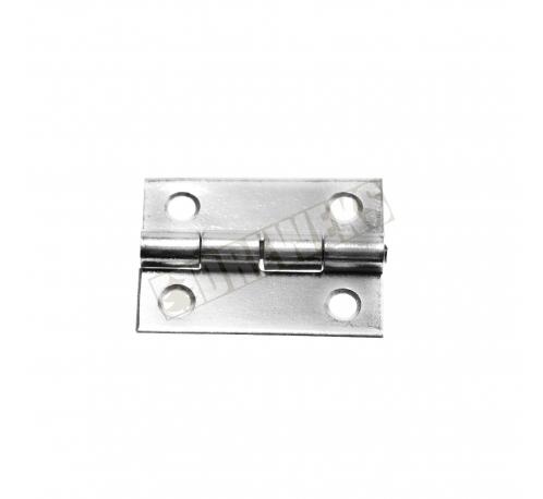 Hinge 25x20mm - nickel