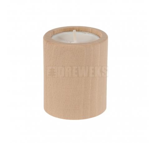 Candlestick circle 60mm - beech