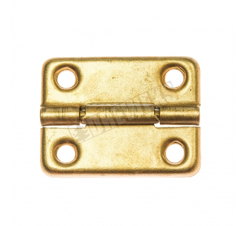 Decorative hinge 32x24mm - brass