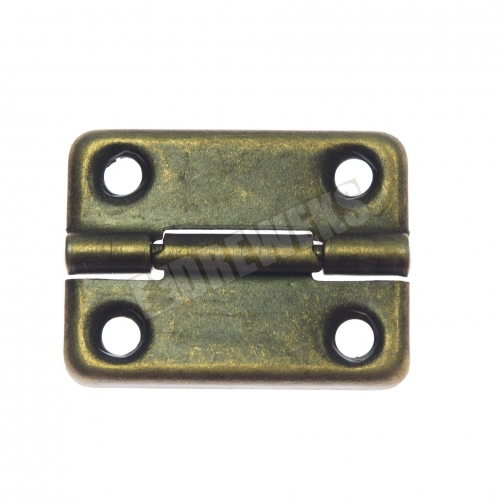 Decorative hinge 32x24mm - dark brass