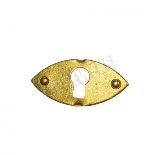 Lock frame - brass