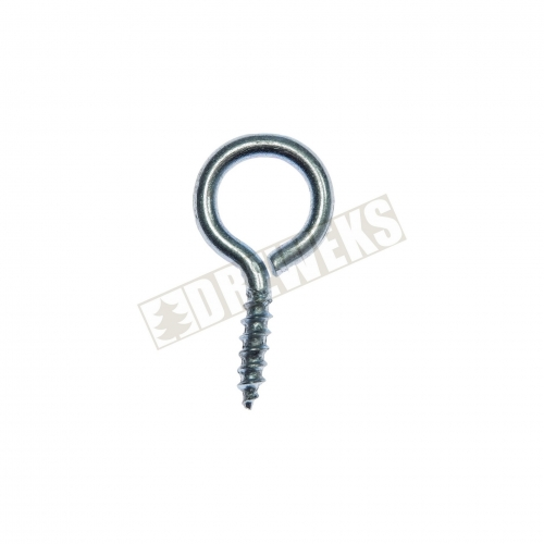 Screw hook silver - 500 pieces
