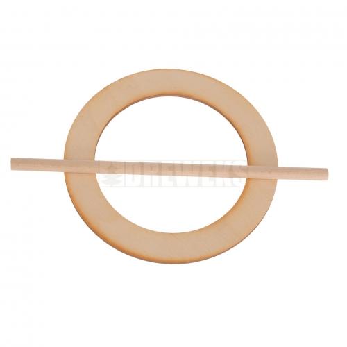 Curtain clip - circle