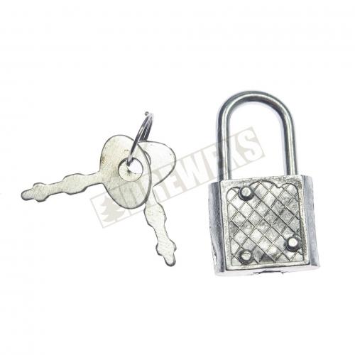 Padlock with 2 keys