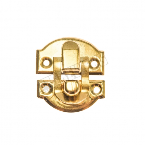 Clasp - golden - small - 500 pieces