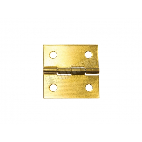 Hinge 25x25mm gold