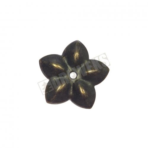 Dekoracja metalowa kwiatek