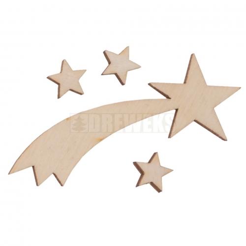 Bethlehem star + 3 stars